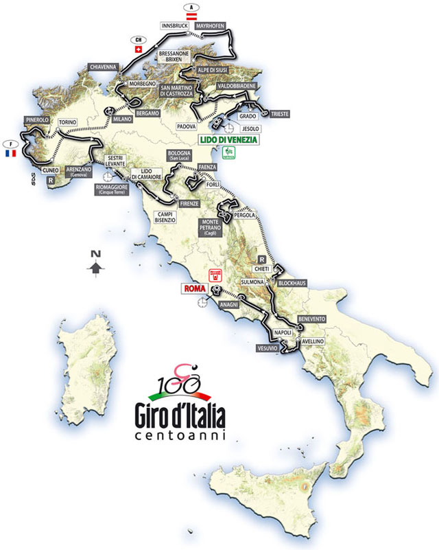 2009 Giro d'Italia (Cycling) preview 0