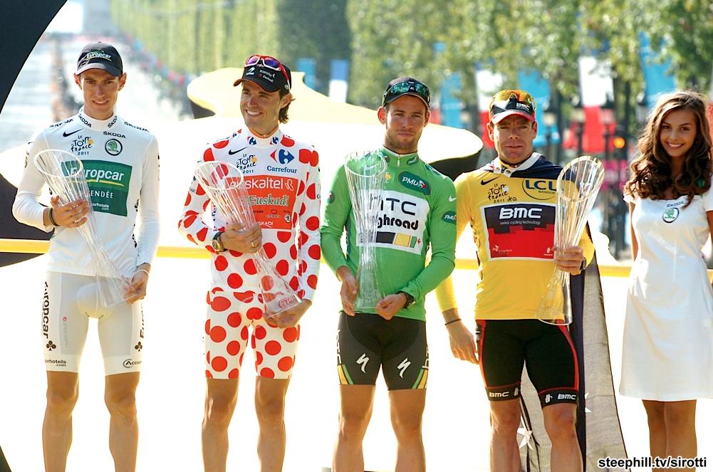 tour de france podium history
