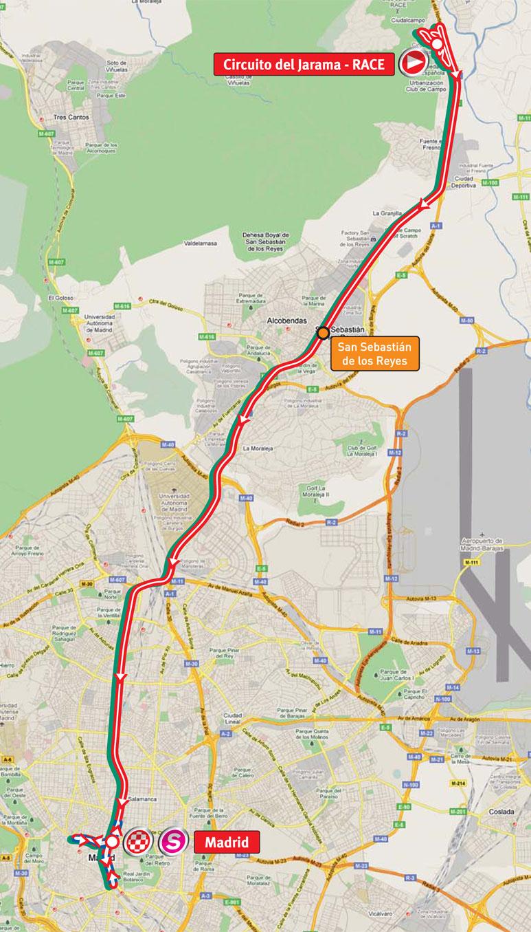 Circuito W Mapa : 2011 vuelta a españa live video stage previews results photos