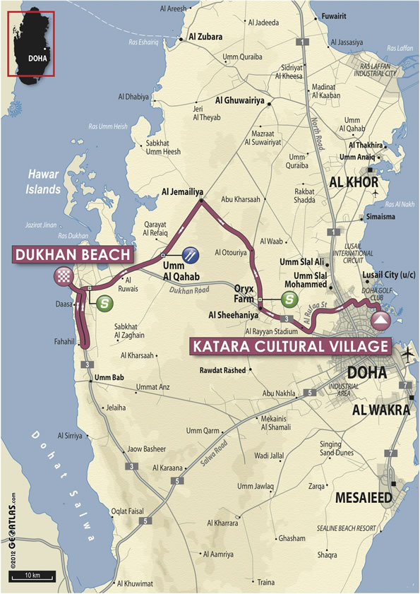 2013 Tour of Qatar Live Video Route Teams Results Photos TV
